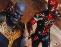 "Tom Holland & Josh Brolin Signed ""Avengers"" 11x14 Photo (PSA COA) at PristineAuction.com"