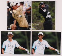 Lot of (4) Adam Scott Signed 8x10 Photos (Beckett COA) at PristineAuction.com
