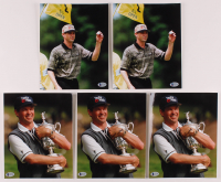 "Lot of (5) Lee Jansen Signed 8x10 Photos Inscribed ""Best Wishes"" (Beckett COA) at PristineAuction.com"