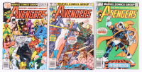 "Lot of (3) ""The Mighty Avengers"" Marvel Comic Books with #181, #195, & #196 at PristineAuction.com"