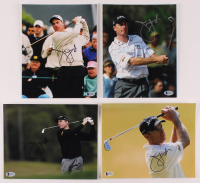 Lot of (4) Jim Furyk Signed 8x10 Photos (Beckett COA) at PristineAuction.com