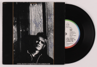 "U2 Band-Signed ""I Still Haven't Found What I'm Looking For"" Vinyl Record Album Cover Signed by (4) with Bono, The Edge, Adam Clayton, & Larry Mullen Jr.  (Beckett LOA) at PristineAuction.com"