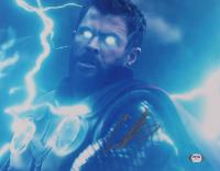 "Chris Hemsworth Signed ""Avengers"" 11x14 Photo (PSA COA) at PristineAuction.com"