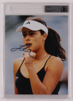 Ana Ivanovic Signed 8x10 Photo (BGS Encapsulated) at PristineAuction.com