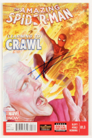 "Tom Holland Signed 2014 ""The Amazing Spider-Man Learning To Crawl"" Issue #1.3 Marvel Comic Book (JSA COA) at PristineAuction.com"
