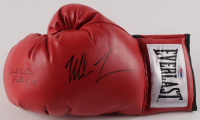 Mike Tyson & Evander Holyfield Signed Everlast Boxing Glove (PSA LOA) at PristineAuction.com
