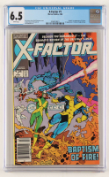 """1986 """"X-Factor"""" Issue #1 Comic Book (CGC 6.5) at PristineAuction.com"""