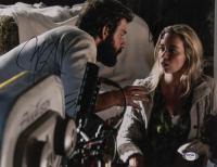 "John Krasinski & Emily Blunt Signed ""A Quiet Place"" 11x14 Photo (PSA COA) at PristineAuction.com"