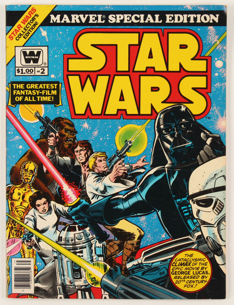 "1977 ""Marvel Special Edition: Star Wars"" Issue #2 Comic Book at PristineAuction.com"