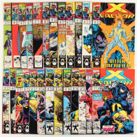 "Lot of (25) 1990 ""X-Factor"" Issues #57-81 Marvel Comic Book at PristineAuction.com"