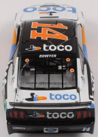 Clint Bowyer Signed LE NASCAR #14 Toco Warranty 2019 Mustang -1:24 Scale Die Cast Car (RCCA COA) at PristineAuction.com