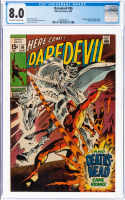 "1969 ""Daredevil"" Issue #56 Marvel Comic Book (CGC 8.0) at PristineAuction.com"