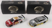 Lot of (2) Dale Earnhardt Jr. LE 1:24 Scale Die Cast Cars with (1) #88 TaxSlayer 2016 SS Elite & (1) Signed #88 Axalta 2016 SS Elite Raw (RCCA COA & JR Motorsports COA) at PristineAuction.com