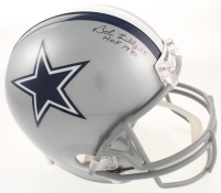 "Bob Lilly Signed Cowboys Full-Size Helmet Inscribed ""HOF 1980"" (JSA COA) at PristineAuction.com"
