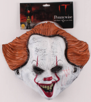 "Bill Skarsgard Signed ""IT"" Pennywise Mask (PSA COA) at PristineAuction.com"