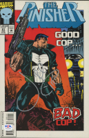 "Jon Bernthal Signed 1993 ""The Punisher"" Issue #81 Comic Book with Hand-Drawn Sketch (PSA COA) at PristineAuction.com"