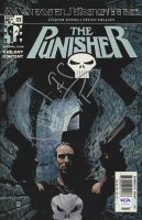 "Jon Bernthal Signed 2003 ""The Punisher"" Issue #23 Comic Book with Hand-Drawn Sketch (PSA COA) at PristineAuction.com"