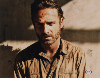 """Andrew Lincoln Signed """"The Walking Dead"""" 11x14 Photo (PSA COA) at PristineAuction.com"""