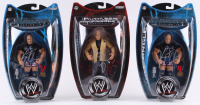 Lot of (3) Kurt Angle Signed WWE Action Figure Boxes (JSA ALOA) at PristineAuction.com