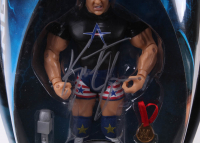 Lot of (3) Kurt Angle Signed WWE Action Figure Boxes (JSA ALOA) at PristineAuction.com