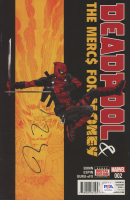 "Ryan Reynolds Signed 2016 ""Deadpool & The Mercs For Money"" Issue #2 Comic Book (PSA COA) at PristineAuction.com"