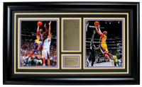 Kobe Bryant 17x29 Custom Framed Photo Display at PristineAuction.com