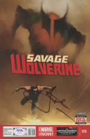 Hugh Jackman Signed 2014 Savage Wolverine #16 Comic Book (PSA COA) at PristineAuction.com