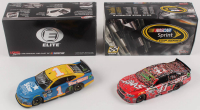 Lot of (2) Kurt Busch Signed LE 1:24 Scale Die Cast Cars with (1) #41 Haas Automation Richmond Win 2015 SS & (1) #1 Star Nursery 2019 Camaro ZL1 Elite Autographed (RCCA COA) at PristineAuction.com