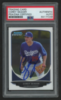 Corey Seager Signed 2013 Bowman Chrome Draft Top Prospects #TP42 (PSA Encapsulated) at PristineAuction.com