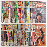 "Lot of (62) 1983 ""New Mutants"" Marvel Comic Books at PristineAuction.com"