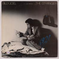 "Billy Joel Signed ""The Stranger"" Vinyl Record Album Cover (PSA COA) at PristineAuction.com"