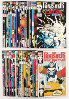 "Lot of (35) 1988 ""The Punisher"" Marvel Comic Books at PristineAuction.com"