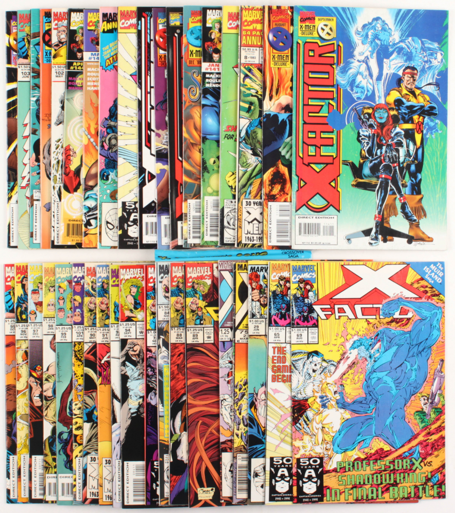 "Lot of (37) ""X-Force"" Marvel Comic Books at PristineAuction.com"