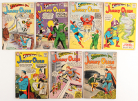 "Lot of (7) 1954 ""Superman's Pal: Jimmy Olsen"" Marvel Comic Books at PristineAuction.com"