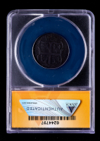 1773 Virginia 1/2P Half-Pence Colonial Coin (ANACS F12 Details) at PristineAuction.com