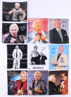 "Lot of (10) Bobby ""The Brain"" Heenan Signed 8x10 Photos (JSA ALOA) at PristineAuction.com"