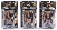 Lot of (3) Sycho Sid Signed WWE Classic Superstars Series Action Figures (JSA ALOA) at PristineAuction.com