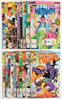 "Lot of (20) 1983 ""The New Mutants"" Marvel Comic Books at PristineAuction.com"
