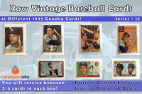 Cardboard Hits Vintage Baseball Mystery Box Series 12 at PristineAuction.com