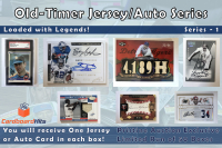 Cardboard Hits Old-Timer Jersey/Auto Mystery Box at PristineAuction.com