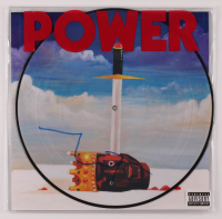 """Kanye West Signed """"Power"""" Picture Vinyl Record (PSA COA) at PristineAuction.com"""
