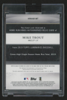 Mike Trout 2019 Topps Encased Luminaries Home Run Kings Autograph Patches #HRKAPMT at PristineAuction.com