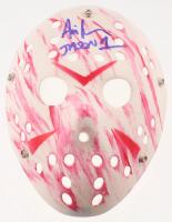 "Ari Lehman Signed ""Friday the 13th"" Mask Inscribed ""Jason 1"" (Lehman Hologram) at PristineAuction.com"