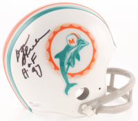 """Don Shula Signed Dolphins Throwback Mini-Helmet Inscribed """"H.O.F. '97"""" (JSA COA) at PristineAuction.com"""