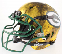 Donald Driver Signed Packers Full-Size Authentic On-Field Hydro-Dipped Chrome Vengeance Helmet (Beckett COA) at PristineAuction.com