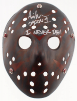 "Ari Lehman Signed ""Friday the 13th"" Mask Inscribed ""Jason 1"" & ""I Never Die!"" (Lehman Hologram) at PristineAuction.com"