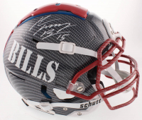 """John """"Smokey"""" Brown Signed Bills Full-Size Authentic On-Field Hydro-Dipped F7 Helmet (JSA COA) at PristineAuction.com"""