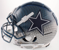 Leighton Vander Esch Signed Cowboys Full-Size Authentic On-Field Hydro Dipped F7 Helmet (Beckett COA) at PristineAuction.com