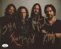 Winger 8x10 Photo Band-Signed by (4) With Kip Winger, Paul Young, Rod Morgenstein & John Roth (JSA COA) at PristineAuction.com