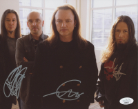 Queensryche 8x10 Photo Band-Signed by Geoff Tate, Eddie Jackson, & Michael Wilton (JSA COA) at PristineAuction.com